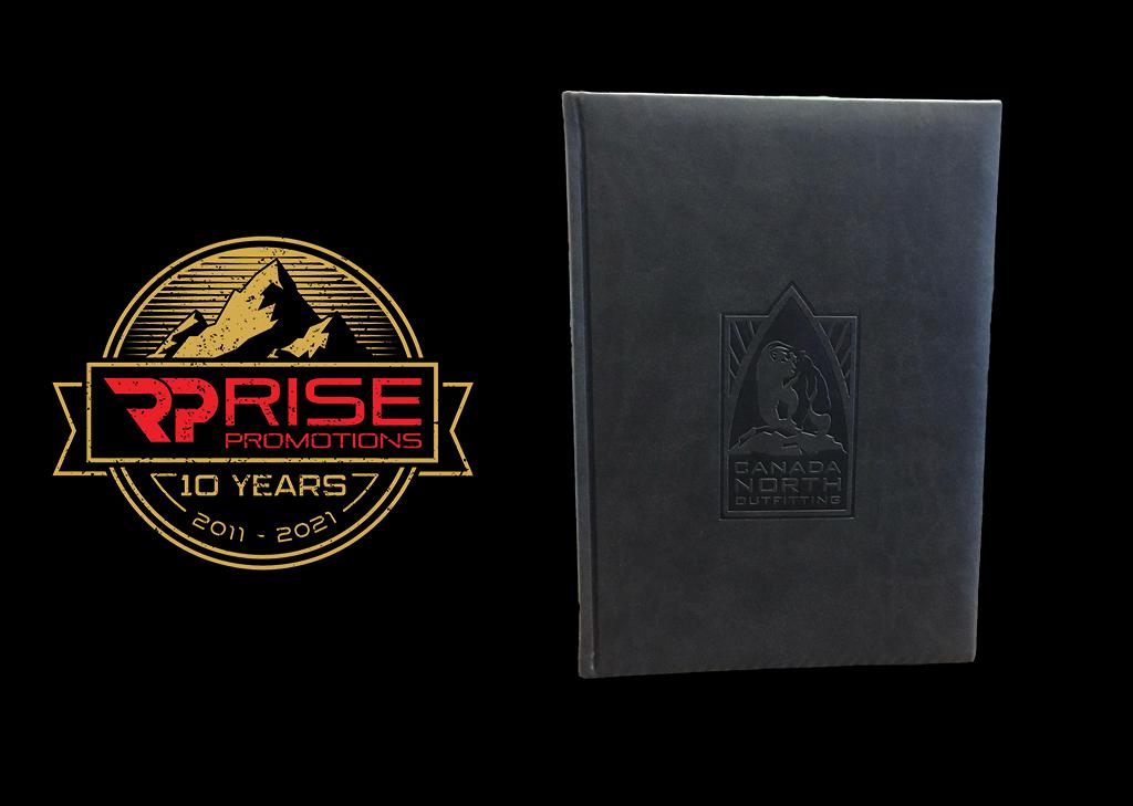 Debossed Leather Book
