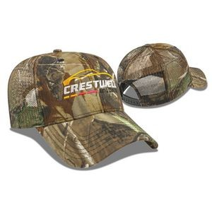All Over Camo with Mesh Back Cap