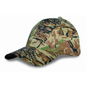 Camouflage Cotton Twill Cap