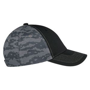Polycotton / Cotton Drill, 6 Panel Constructed Full-Fit (Urban Camo)