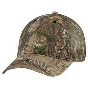 Brushed Polycotton/Polyester Mesh Realtree XTRA® Cap