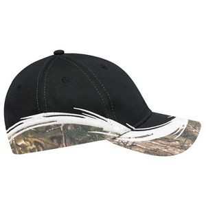 Constructed Full Fit Brushed Polycotton Camouflage Cap (Mossy Oak Break-Up® or Realtree®)