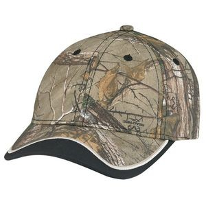 Deluxe Blended Chino Twill/Brushed Polycotton Cap - Realtree®