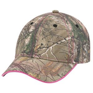 Brushed Polycotton Camouflage 6 Panel Hunting Safety Cap