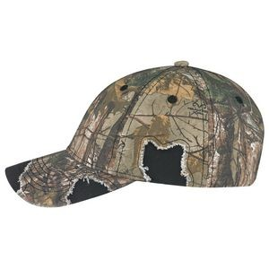 Enzyme Washed Deluxe Chino Twill/Brushed Polycotton Cap - Realtree®